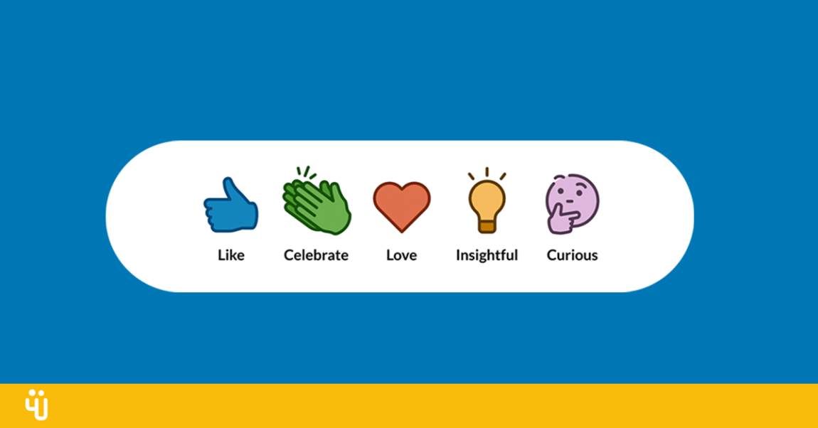 Linkedin Introduces Reactions: More Ways To Express Yourself • Featured, LinkedIn • WeRSM – We are Social Media