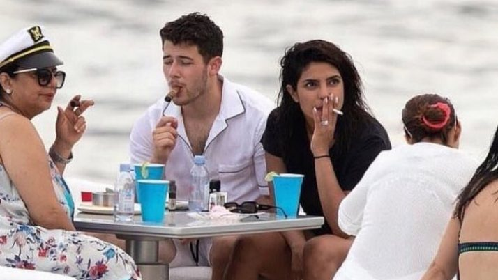 Netizens 'reveal issue' over Priyanka Chopra's asthma after an image where she is smoking cigarette went viral on social networks