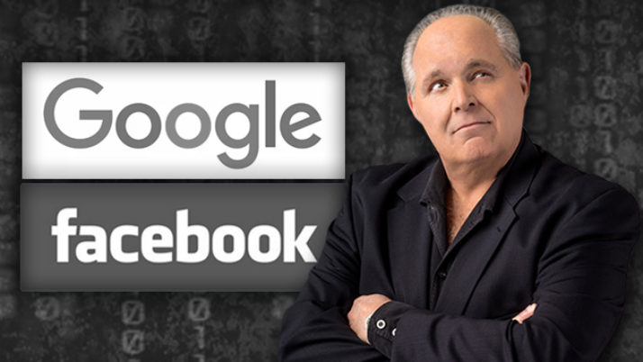 The Social Media Giants Threaten Our Elections – The Rush Limbaugh Show