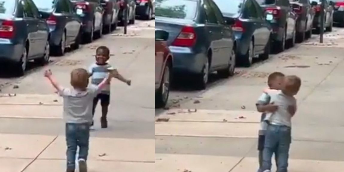 Viral Video Of 2 Toddler Pals Running To Accept Each Other Has Hearts Melting All Over Social Media
