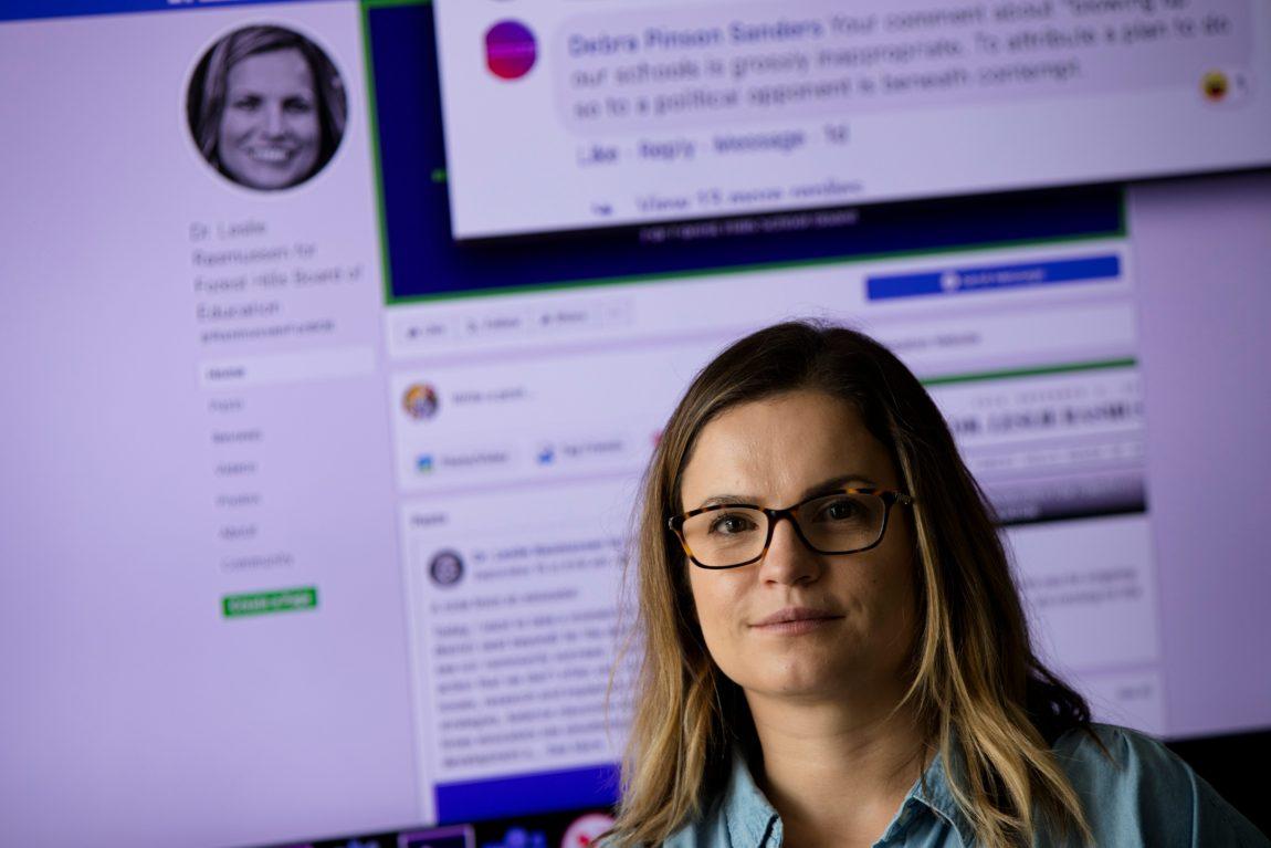 Trolling: Social network teacher runs for Forest Hills school board.