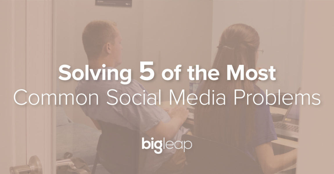 5 Typical Social Media Problems & How to Resolve Them