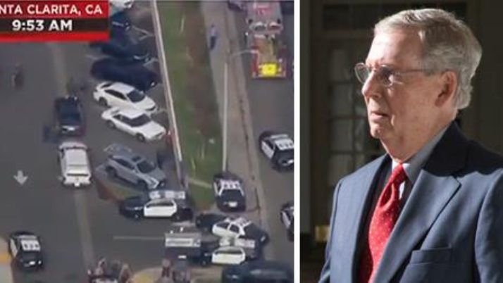 McConnell quickly becomes Left's social networks target after horrific school shooting