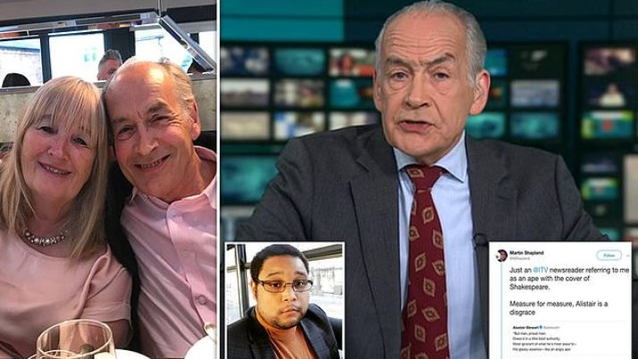 Alastair Stewart stops ITN after social networks 'misjudgement'|Daily Mail Online