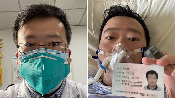 Chinese physician is apprehended after alerting on social media of 'a SARS-like flu at a Wuhan market'|Daily Mail Online
