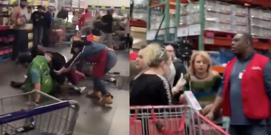 Social media videos capture brawls at Costco and Sam's Club during coronavirus panic, one stabbing