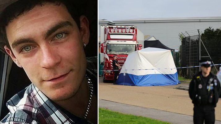Lorry driver Maurice Robinson boasted on social media, 'I hate immigrants'|Daily Mail Online