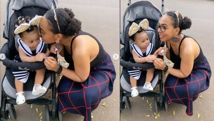 Doting Mom TBoss Floods Social Media With Photos Bonding With Her Lovable Child – Fans React – GhanaCelebrities.Com